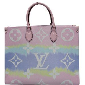 LOUIS VUITTON ESCALE ONTHEGO GM MONOGRAM SHOULDER